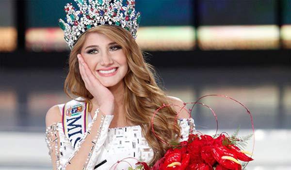 Mariam Habach, Miss Venezuela 2015   Foto: Cortesía