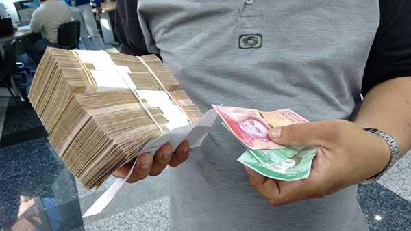 Nuevos billetes del cono monetario comienza a circular | Foto: @BanFANB