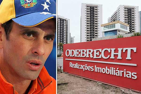 Henrique Capriles / Odebrecht | Fotomontaje Notitotal
