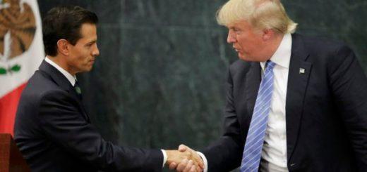 Enrique Peña Nieto y Donald Trump | Foto: Reuters