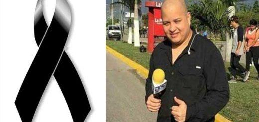 El reportero del Canal Hable Como Habla (HCH) de la capital, Igor Padilla,