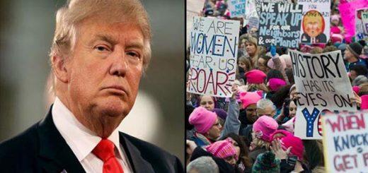 Donald Trump responde a la Marcha de las Mujeres | Composición Notitotal