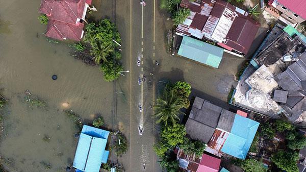 Cuatro muertos y miles de afectados por inundaciones en Tailandia | Foto: AFP