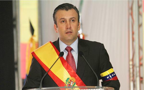 Tareck El Aissami, nuevo vicepresidente de la República   Foto: Archivo