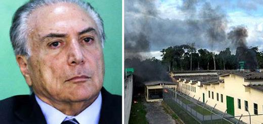Michel Temer habla sobre la 'masacre de Manaos' | Fotomontaje