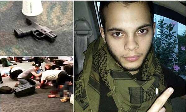 Autor del tiroteo en el aeropuerto Fort Laudertale | Foto: DailyMail