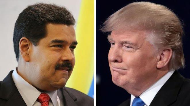 Nicolás Maduro y Donald Trump | Fotos Getty Images