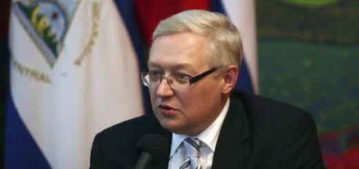 Serguéi Riabkov, Viceministro de Asuntos Exteriores en Rusia   Foto: Cortesía
