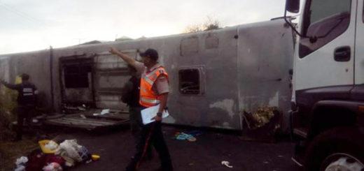 Accidente vial en Bolívar |Foto: Twitter