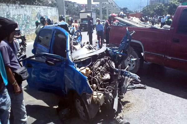 Accidente vehicular |Foto: El Nacional