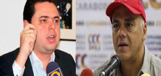 Antonio Ecarri insta a Jorge Rodríguez a despedirse de la alcaldía de Caracas |Composición: Notitotal