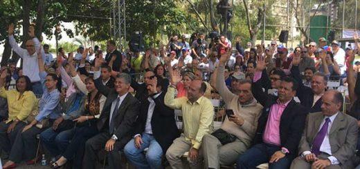 Diputados de la Asamblea Nacional en sesión especial |Foto: AN