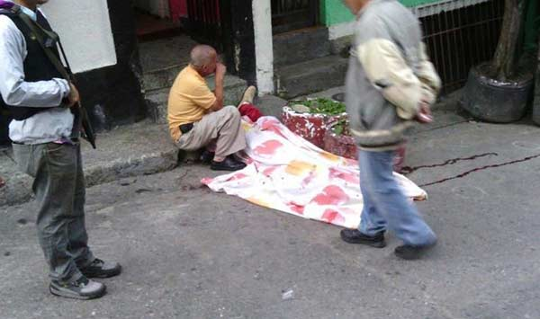 """Presumen que el móvil fue """"venganza""""  Foto: Román Camacho"""
