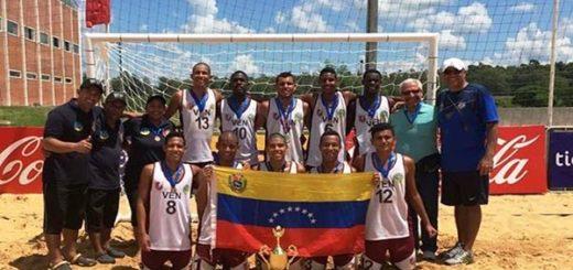 Equipo de Balonmano venezolano |Foto: Nota de prensa