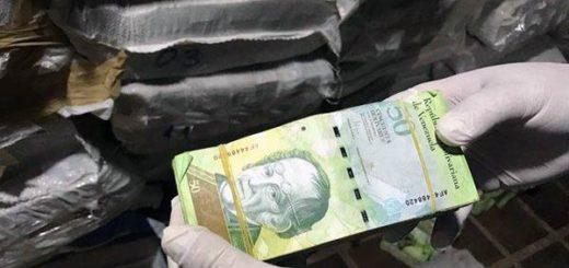 Billetes venezolanos incautados en Paraguay | Foto: Efecto Cocuyo