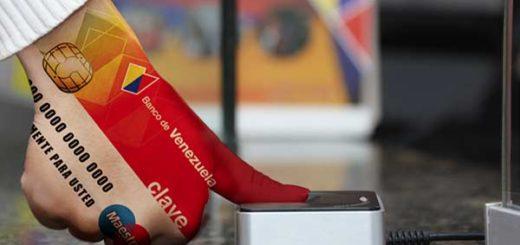 Banco de Venezuela presentó un método de compra mediante huella digital | Foto: BDV