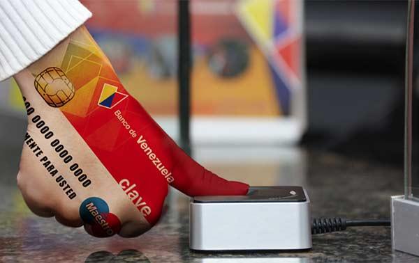 Banco de Venezuela presentó un método de compra mediante huella digital, llamado Biopago BDV | Foto: BDV