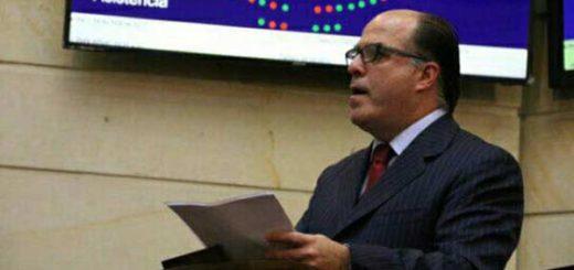 Julio Borges ante el Congreso de Colombia | Foto: @AsambleaVE
