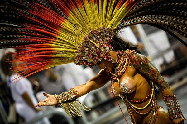 Carnaval en Sao Paulo 2017  impresiona a turistas y residentes esperan sorpresas este 2018 |Foto: EFE