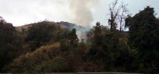 Reportan incendio en El Ávila | Foto: Jorge Galindo