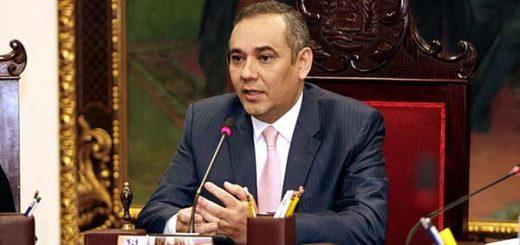 Maikel Moreno, nuevo presidente del TSJ | Foto: Vía Twitter