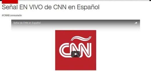 Gobierno podría bloquear señal de CNN en Español en Youtube| Foto: La Patilla