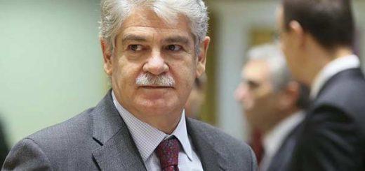 Alfonso Dastis, manifiesta preocupación por Venezuela |Foto: EFE