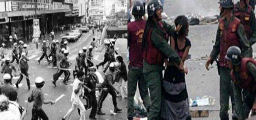 Caracazo vs Revolución: Más semejanzas que diferencias