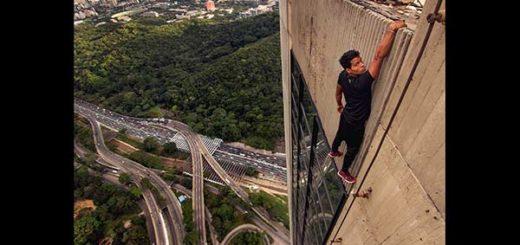 Carlos Rengifo, atleta venezolano, amante de las altura |Foto: CarlosRengifo.Ve