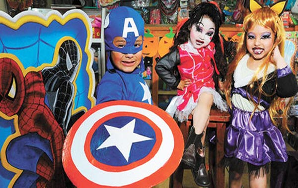 Precios de disfraces infantiles están por las nubes |Foto: Caraota Digital