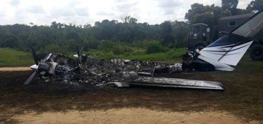 Ceofanb derribó aeronave por violar espacio aéreo en Maracaibo   Foto: @ceofanb