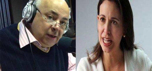César Miguel Rondón / María Corina Machado | Composición