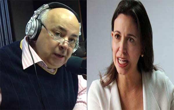 César Miguel Rondón / María Corina Machado   Composición