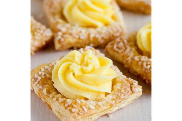 Dulce con crema pastelera |Foto cortesía