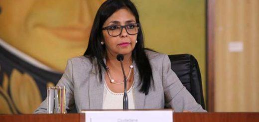 Delcy Rodríguez | Foto: @vencancilleria