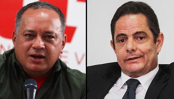 """Vicepresidente colombiano calificó a Diosdado Cabello como opresor y """"patán"""""""