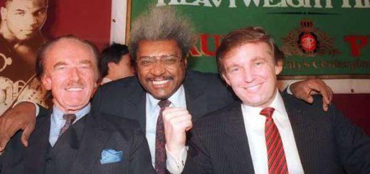 Donald Trump junto a su padre Fred Trump |Foto: AP