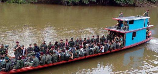 Farc avanzan hacia las zonas de desarme en Colombia | Foto: @DomingoBioho