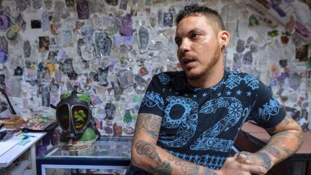 Juan José Herrera, hijo del colombiano ejecutado |Foto: AFP