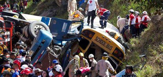 Al menos 23 muertos dejó choque en Honduras   Foto: EFE
