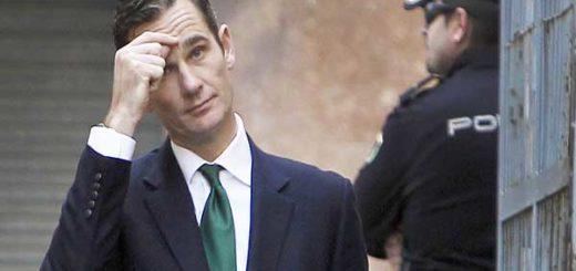Iñaki Unrdangarin, cuñado del Rey de España  Foto: Huffington Post