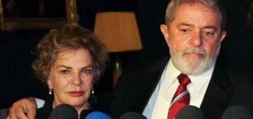 María Leticia Rocco, esposa del expresidente brasileño, Luiz Inácio Lula da Silva | Foto: Archivo