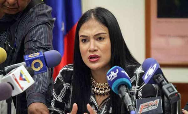 Gogernadora electa del estado Táchira, Laidy Gómez |Foto: Caraota Digital