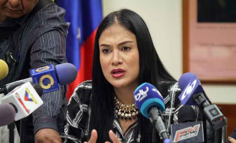 Diputada por el estado Táchira, Laidy Gómez |Foto: Caraota Digital