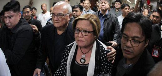 Detienen por narcotráfico a senadora opositora en Filipinas | Foto: @makilingmiracle