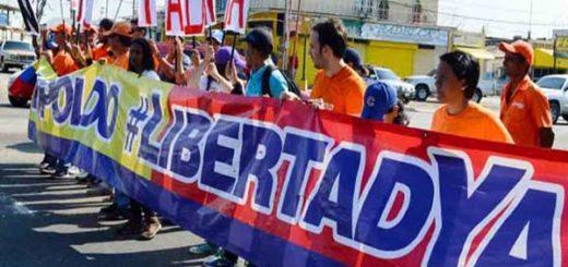 Zulianos se sumaron a la marcha de este #18F |Foto: Nota de prensa