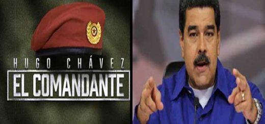 Maduro asegura que serie El Comandante es una obra de los enemigos de la Revolución |Composición: Notitotal