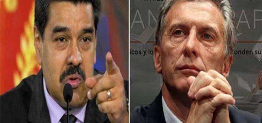 Nicolás Maduro / Mauricio Macri | NotiTotal
