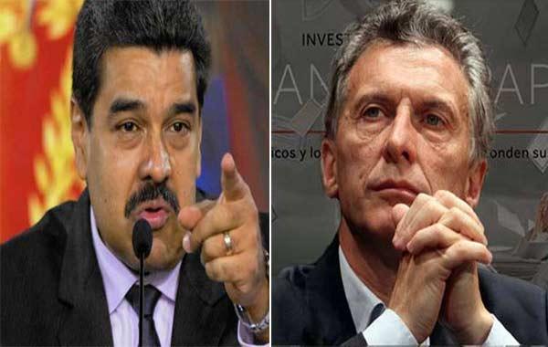 Nicolás Maduro / Mauricio Macri   NotiTotal