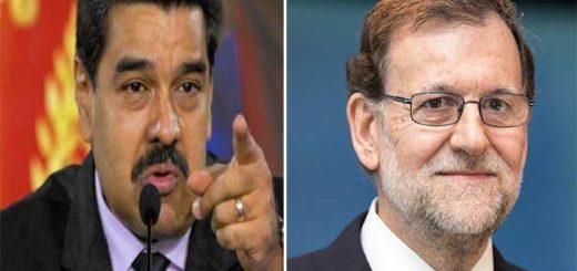 Nicolás Maduro / Mariano Rajoy | Composición